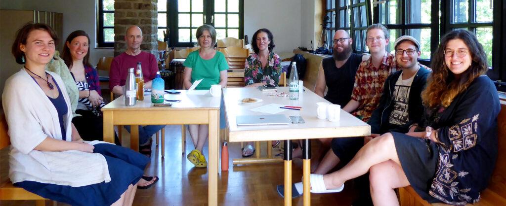 Gruppenfoto des NVN Nebenan beim Shäffiesingen 2021